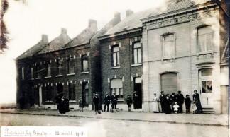 Peronne-lez-Binche-Maisons-Janson-Horis-bailly-Drugmand-22-aout-1914