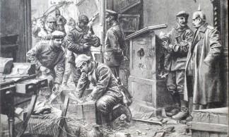 Pillage-sur-lieux-de-batailles-1914