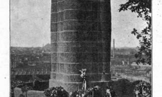 1418-S04-03 - Châtelet - Denkmal bei Charleroi 1915 BR