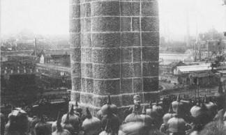 1418-S04-06 - Couillet - Denkmalsweihe im Kreise Charleroi 1915 BR