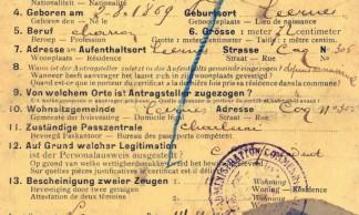 Ausweis-Laisser-passer-Leernes-14-11-1917