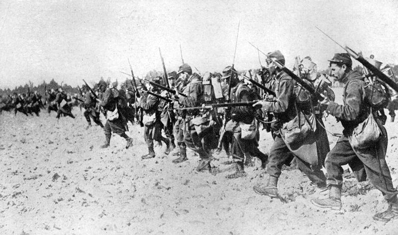 Soldats-français-au combat