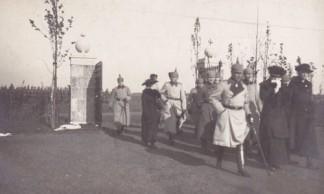 Inauguration de la Nécropole en 1916